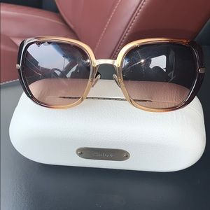 Chloe scalloped sunglasses